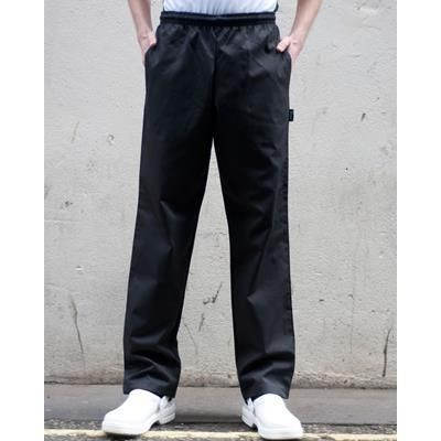 Picture of DENNYS ELASTICATED TROUSERS in Black
