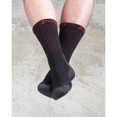 Picture of DICKIES INDUSTRIAL WORK SOCKS in Black