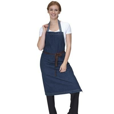 Picture of DENNYS WASHED DENIM BIB APRON