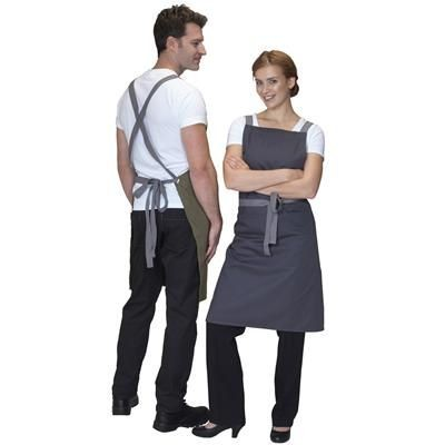 Picture of DENNYS CROSS BACK APRON