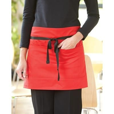 Picture of DENNYS SHORT BAR APRON with Pocket