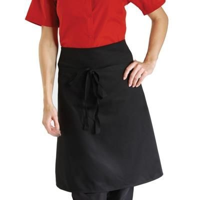Picture of DENNYS ECONOMY WAIST APRON in Black