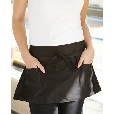 Picture of DENNYS MONEY POCKET APRON in Black