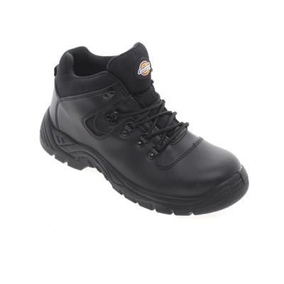 Picture of DICKIES FURY SUPER SAFETY HIKER BOOT in Black