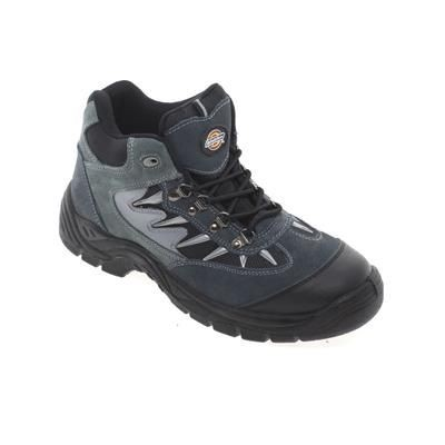 Picture of DICKIES STORM SUPER SAFETY HIKER BOOT in Grey & Black