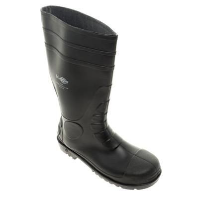 Picture of DICKIES SUPER SAFETY WELLINGTON BOOTS in Black