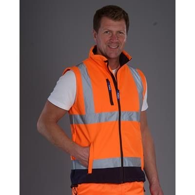 Picture of YOKO HI VISIBILITY SOFTSHELL BODYWARMER