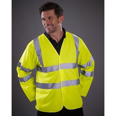 Picture of YOKO HI VISIBILITY SAFETY LONG SLEEVE JACKET