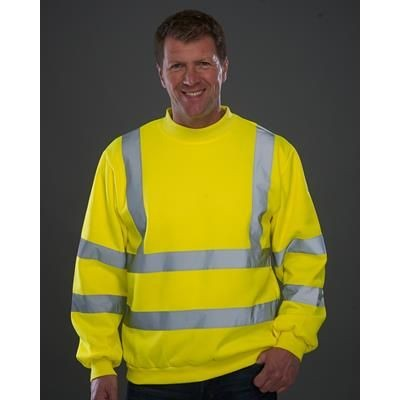 Picture of YOKO HI-VIS HEAVYWEIGHT SWEATSHIRT