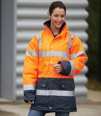 Picture of YOKO HIGH VISIBILITY REFLECTIVE 2 BAND TWO TONE JACKET