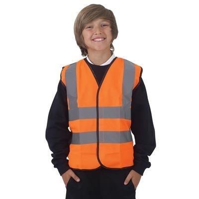 Picture of YOKO CHILDRENS HI VISIBILITY WAISTCOAT