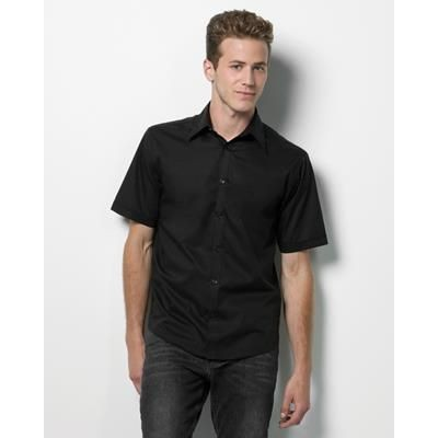 Picture of KUSTOM KIT MENS BAR SHIRT in Black
