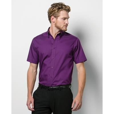 Picture of KUSTOM KIT TAILORED FIT OXFORD SHORT SLEEVE SHIRT