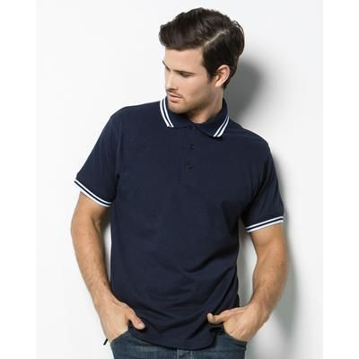 Picture of KUSTOM KIT TIPPED PIQUE POLO SHIRT