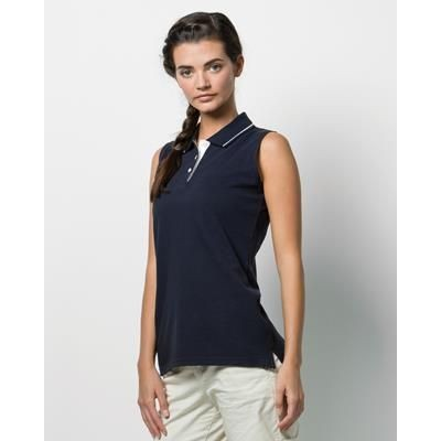 Picture of KUSTOM KIT LADIES GAMEGEAR PROACTIVE SLEEVELESS POLO SHIRT