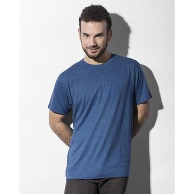 Picture of NAKEDSHIRT LARRY TRIBLEND MENS TEE