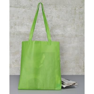 Picture of TOWELS BY JASSZ WILLOW BASIC LONG HANDLE SHOPPER TOTE BAG