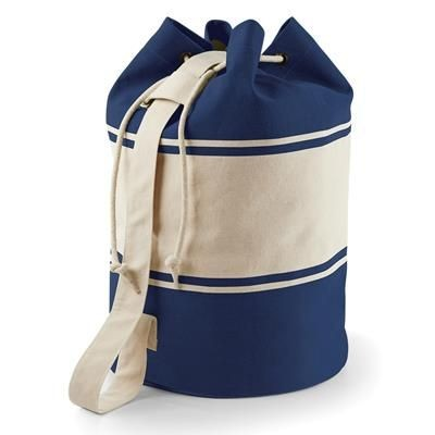 Picture of QUADRA CANVAS DUFFLE BAG in Natural