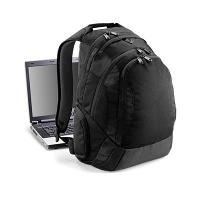 Picture of QUADRA VESSEL LAPTOP BACKPACK RUCKSACK in Black