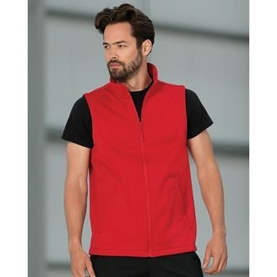Picture of RUSSELL MENS SMART SOFTSHELL GILET BODYWARMER