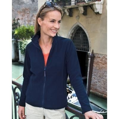 Picture of RESULT LA FEMME LADIES HIGH GRADE MICROFLEECE JACKET