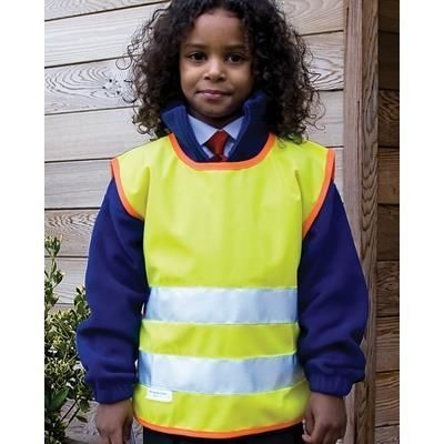 Picture of RESULT CHILDRENS HIGH VISIBILITY TABARD in High Visibility Reflective Yellow