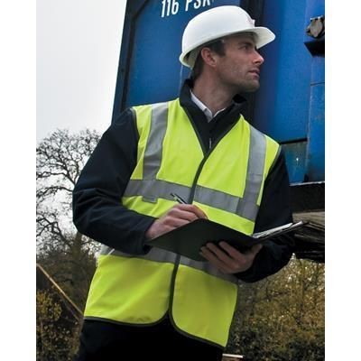 Picture of RESULT HIGH VISIBILITY SAFETY VEST in High Visibility Reflective Yellow