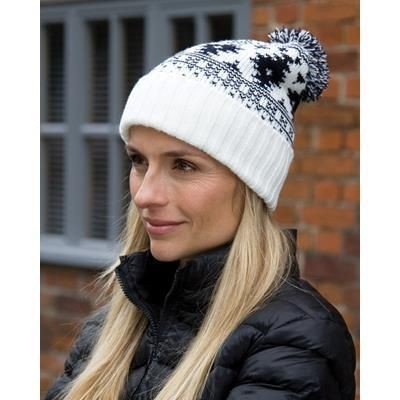 Picture of RESULT WINTER DELUXE FAIR ISLES HAT