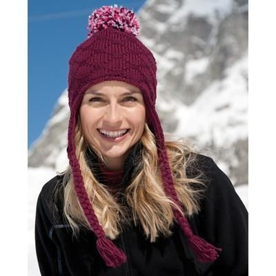 Picture of RESULT WINTER GLACIER POM POM HAT