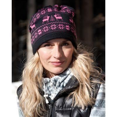 Picture of RESULT WINTER REINDEER SNOOD HAT