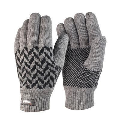 Picture of RESULT WINTER PATTERN THINSULATE GLOVES