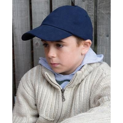 Picture of RESULT CHILDRENS LOW PROFILE HEAVY BRUSHED COTTON BASEBALL CAP