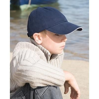 Picture of RESULT LOW PROFILE HEAVY BRUSHED COTTON BASEBALL CAP
