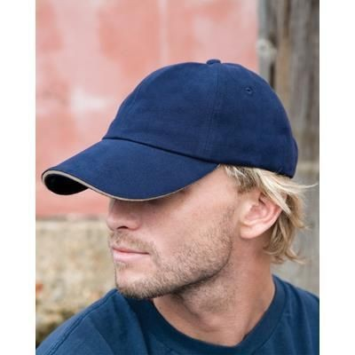 Picture of RESULT PRO-STYLE HEAVY BRUSHED COTTON BASEBALL CAP