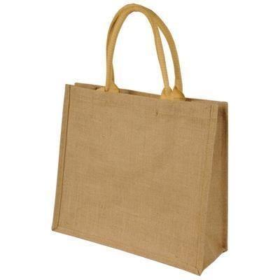Picture of SHUGON CHENNAI SHORT HANDLED JUTE SHOPPER TOTE BAG