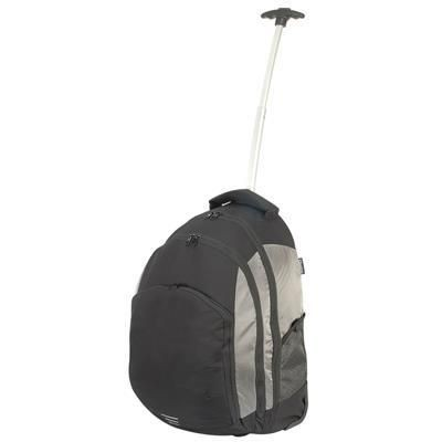 Picture of SHUGON CARRARA MONOPOLE TROLLEY BACKPACK RUCKSACK in Black & Silver