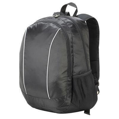 Picture of SHUGON ZURICH LAPTOP BACKPACK RUCKSACK in Black