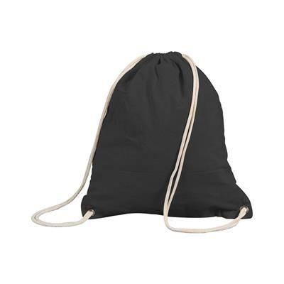 Picture of SHUGON STAFFORD COTTON DRAWSTRING TOTE BACKPACK RUCKSACK