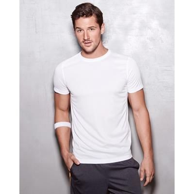 Picture of STEDMAN ACTIVE MENS 140 CREW NECK TEE SHIRT