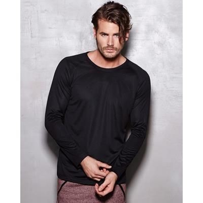 Picture of STEDMAN ACTIVE MENS 140 LONG SLEEVE TEE SHIRT