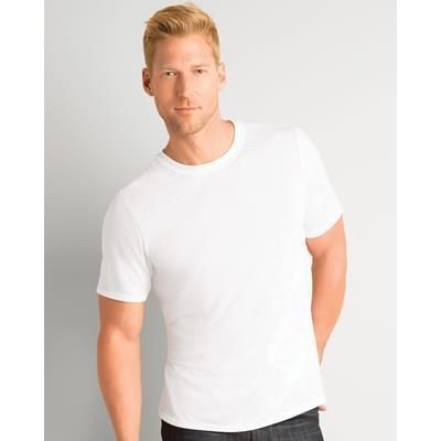Picture of GILDAN SUBLIMATION ADULT TEE SHIRT in White
