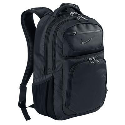 Picture of NIKE GOLF DEPARTURE BACKPACK RUCKSACK in Black