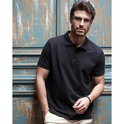 Picture of TEE JAYS MENS HEAVY PIQUE POLO SHIRT
