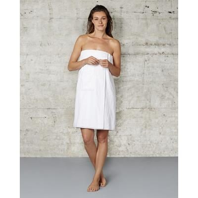 Picture of TOWELS BY JASSZ SAUNA TOWEL in White