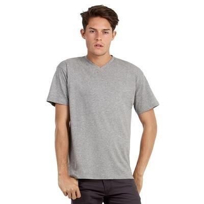 Picture of B&C MENS EXACT V NECK TEE SHIRT