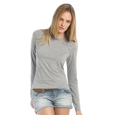 Picture of B&C WOMEN ONLY LONG SLEEVE TEE SHIRT