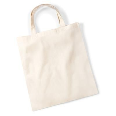 Picture of WESTFORD MILL BUDGET PROMO SHOPPER TOTE BAG FOR LIFE in Natural