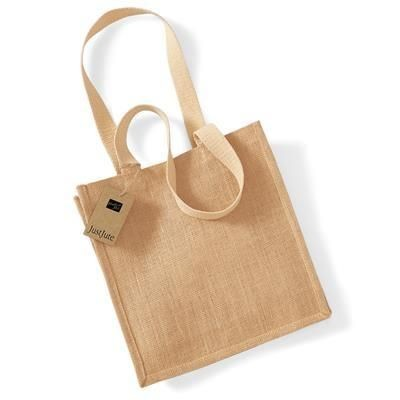 Picture of WESTFORD MILL JUTE COMPACT TOTE SHOPPER TOTE BAG