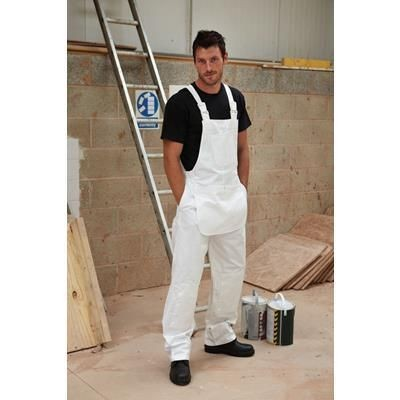 Picture of DICKIES PAINTERS BIB & BRACE in White