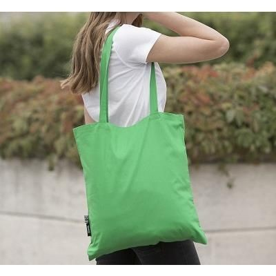 Picture of ORGANIC FAIRTRADE SHOPPER TOTE BAG with Long Handles